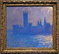 Claude monet, casa del parlamento, effetto luce solare, 1903.JPG