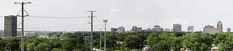 Clayton, Missouri - Image: Clayton Skyline