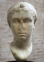 Cleopatra VII, Marble, 40-30 BC, Vatican Museums 001.jpg