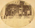 Closer View of Theater of the Canton Guild of Merchants. Hankou, Hubei Province, China, 1874 WDL2107.png