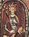King Canute the Great from an illustrated manuscript