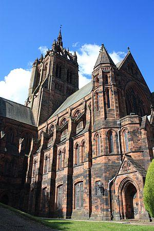 Hippolyte Blanc - The massive Coats Memorial Baptist Church in Paisley