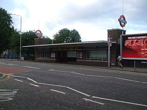 Cockfosters tube station - Image: Cockfosters station building