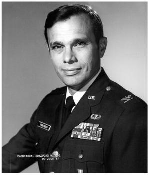 Bradford Parkinson - Image: Col Bradford Parkinson USAF official photo