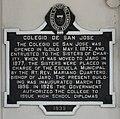 Colegio de San Jose Iloilo historical marker.JPG