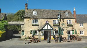 Combe, Oxfordshire - The Cock Inn public house
