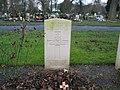 Commonwealth War Grave in Jarrow Cemetery (WW2-23) - geograph.org.uk - 1604900.jpg