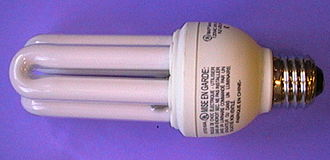 Fluorescent lamp - Compact fluorescent lamp with electronic ballast