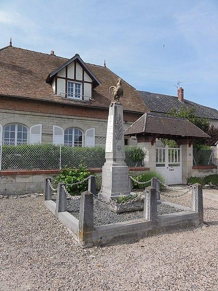 Condé-sur-Aisne Monument aux morts