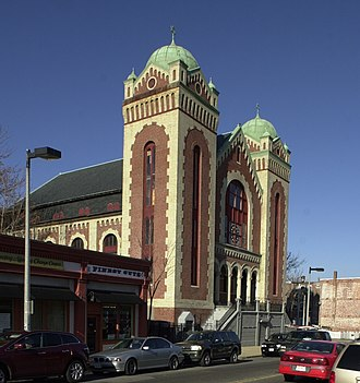 Congregation Adath Jeshurun - Image: Congregation Adath Jeshurun Boston MA 03