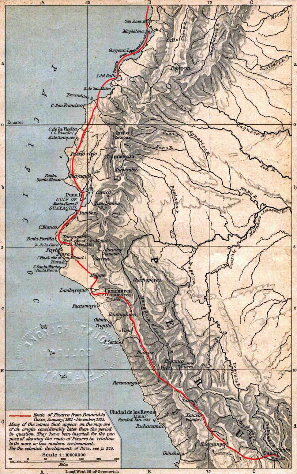 Conquest peru 1531 edited