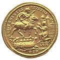 Constantius I capturing London after defeating Allectus Beaurains hoard reverse.jpg