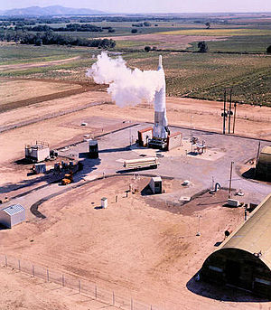577th Strategic Missile Squadron - Convair SM-65F Atlas No. 56, Site 11 Willow OK