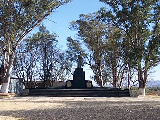 Cuilapan de Guerrero - Monument where Guerrero was executed