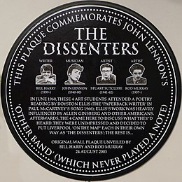 Copy Dissenters plaque, Ye Cracke.JPG