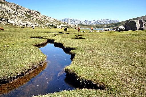 Corte pozzini et lac de Nino