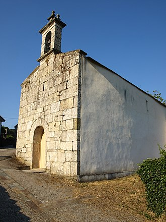Sancho Ordóñez - Remains of the Galician monastery of Santa María de Loio, re-founded at an assembly under Sancho and his brother Alfonso in 927