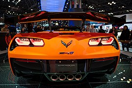 Corvette ZR1 at the New York International Auto Show NYIAS (40611960464).jpg