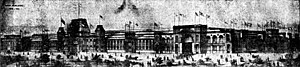 Edward A. Burke - Central Building of the World Cotton Centennial