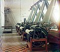 Cotton textile mill interior with machines producing cotton thread, probably in Tashkent LOC 9631428466.jpg