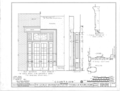 Courtview, 505 North Court Street, University of North Alabama Campus, Florence, Lauderdale County, AL HABS ALA,39-FLO,2- (sheet 10 of 17).png