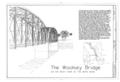 Cover Sheet - Woolsey Bridge, County Road 1408, Woolsey, Washington County, AR HAER AR-63 (sheet 1 of 5).png