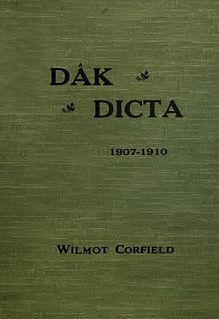 Wilmot Corfield British philatelist