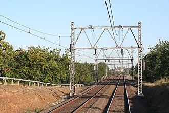 Craigieburn railway line - The line near Ascot Vale