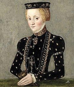 Katariina Jagellonica. Kuva noin vuodelta 1553.