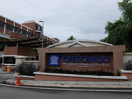 A college in Johor, Malaysia.