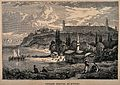 Crimean War, Turkey; panoramic view of the Barrack Hospital, Wellcome V0015410.jpg