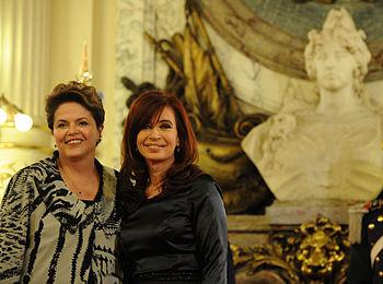 Cristina y Dilma 2011-02-01