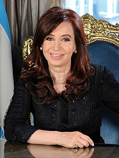 Argentine politician and ex President of Argentina
