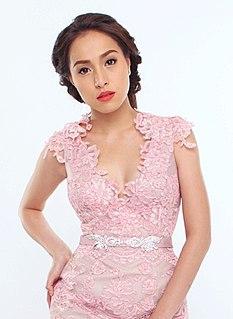 Cristine Reyes Filipina actress, model, dancer and endorser (born 1989)