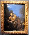 Cristofano allori, san francesco orante, olio su rame, 15,75x12,20 cm, coll. priv..JPG