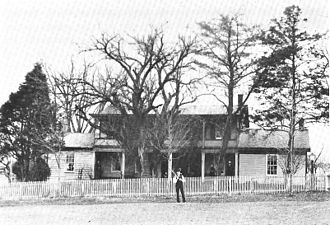 Hanover, Indiana - Residence of John Finley Crowe in Hanover, now listed on the National Register of Historic Places