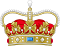 Crown of a Prince of Denmark.svg