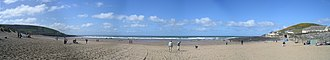 Croyde -  Panorama of Croyde Beach