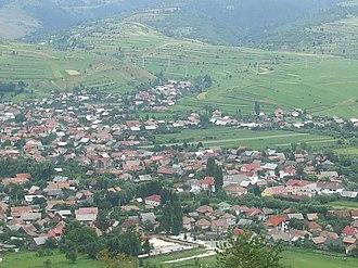 Sândominic - Image: Csíkszentdomokos (Sandominic) from the Garados