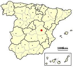Cuenca, Spain location