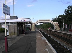 Motherwell–Cumbernauld line - Cumbernauld railway station