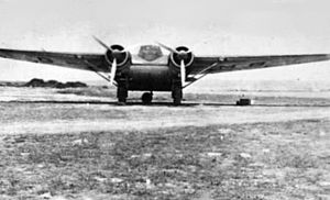 Cunliffe-Owen Aircraft - The Cunliffe-Owen OA-1 in Egypt, 1942.