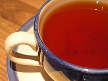 Black tea infusion.