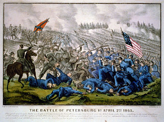 Third Battle of Petersburg - Image: Currier Ives Third Petersburg