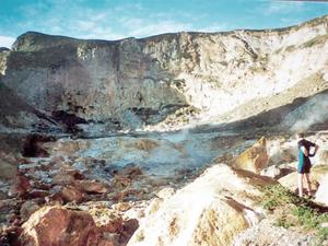 Curtis Island, New Zealand - Curtis Island Crater
