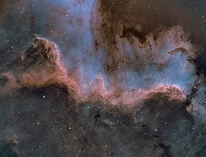 North America Nebula - Cygnus Wall by amateur astronomer Chuck Ayoub
