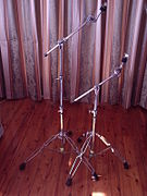 cymbal stand wikipedia. Black Bedroom Furniture Sets. Home Design Ideas