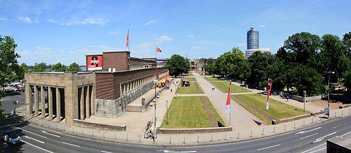 Düsseldorf - Oederallee + Ehrenhof + NRW-Forum (Tonhalle) 01 ies