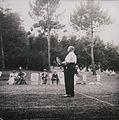 D. Carlos numa partida de ténis na Quinta do Palheiro durante a Visita Régia, 24 de Junho de 1901, ilha da Madeira.jpg