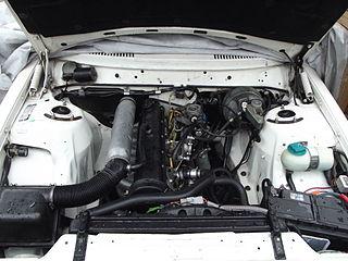 Volkswagen D24 engine Motor vehicle engine